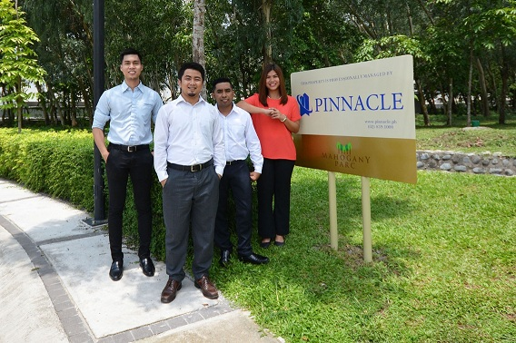 Pinnacle is now managing Mahogany Parc in Clark, Pampanga