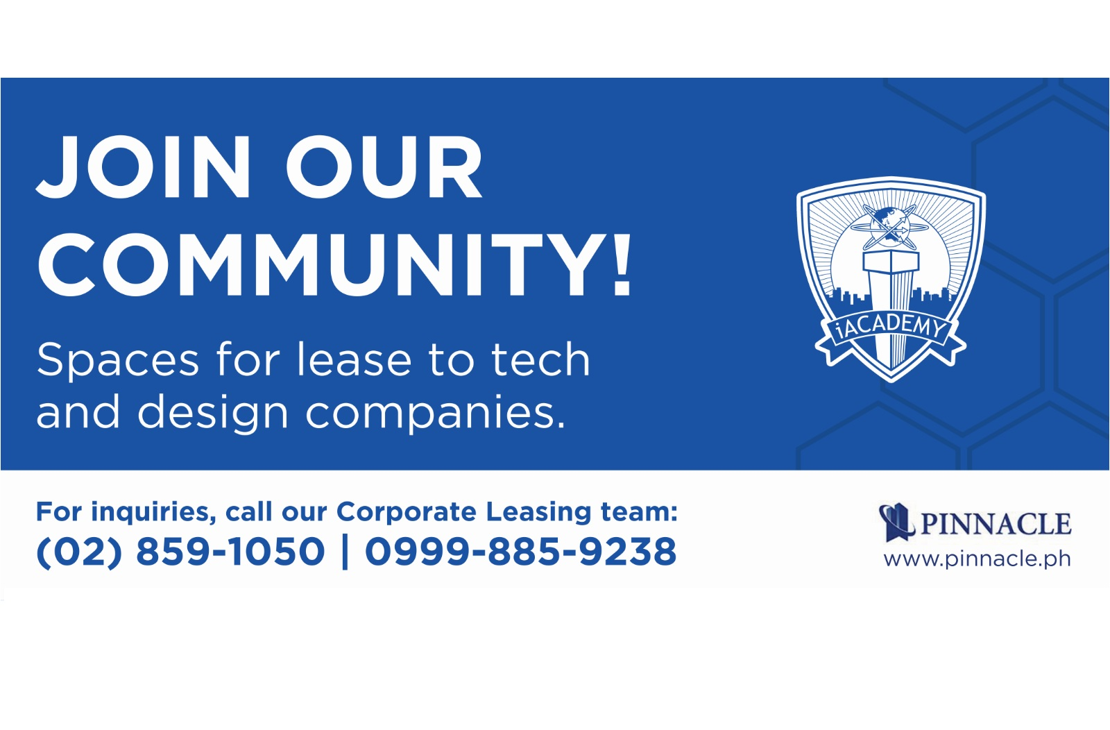 Spaces for Lease to Tech and Design Companies