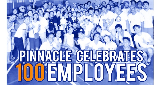Pinnacle celebrates 100 Employees