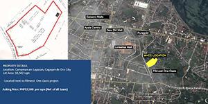 Vacant Lot in Lapasan Cagayan De Oro City For Sale - 1.9 Hectare