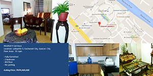 Condo in Lafayette 3, Quezon City For Sale - 55 Sqm
