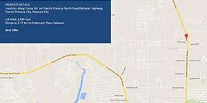 Vacant Lot in Puerta Princesa North Road Puerto Princesa, Palawan For Sale - 3639 Sqm