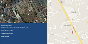 Vacant Lot in Mcarthur Highway Valenzuela City For Lease - 1.1 Hectare