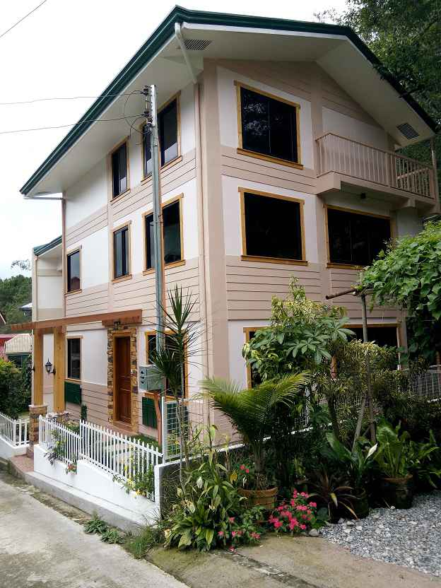 House and Lot for Sale in Woodsville Subdivision, Baguio City - 266 Sqm