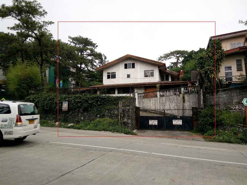 Lot with Improvement in Naguilian Road Baguio City For Sale - 675 Sqm