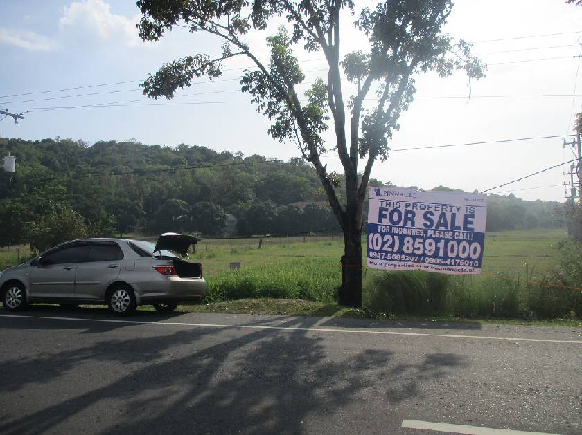 Agricultural lot in Maloma , San Felipe, Zambales for Sale